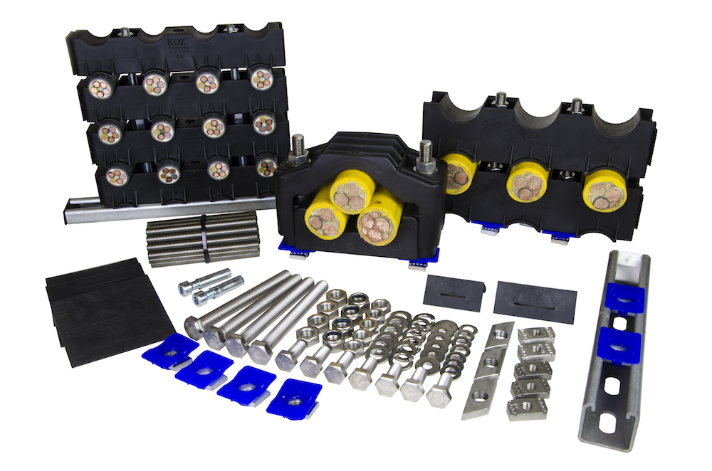 Standard fixing material set (custom sizes)